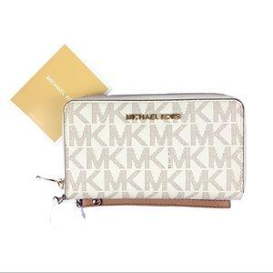 Michael Kors   Jet Set Phone Wallet Wristlet NWT